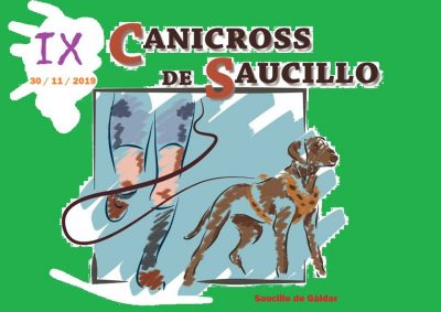 Cartel Canicross Saucillo 2019