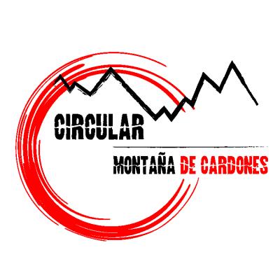 Cartel Circular Montaña de Cardones