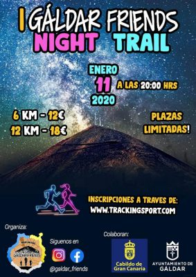 Cartel Galdar Friends Night Trail
