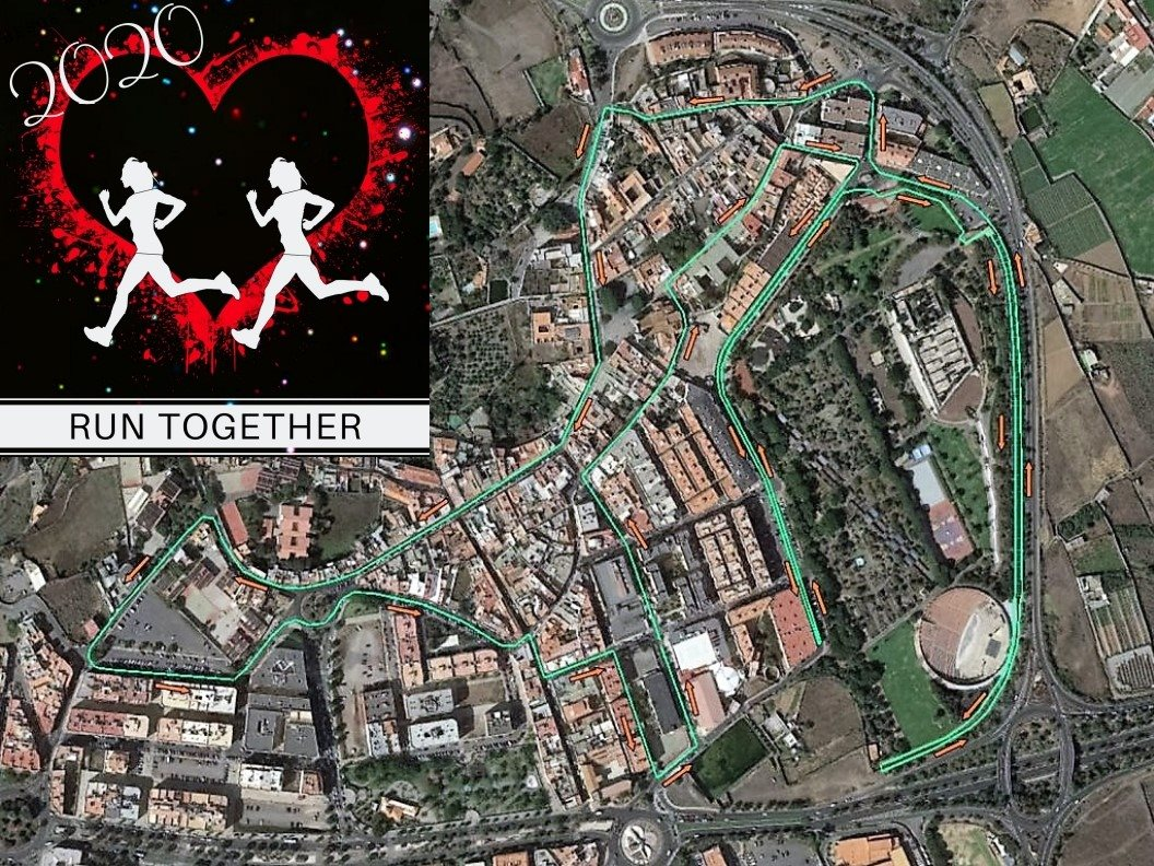 Recorrido Run Together 2020