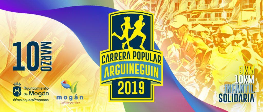 Banner Carrera popular de Arguineguín 2019