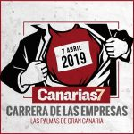Cartel Canarias7 Carrera de las empresas 2019