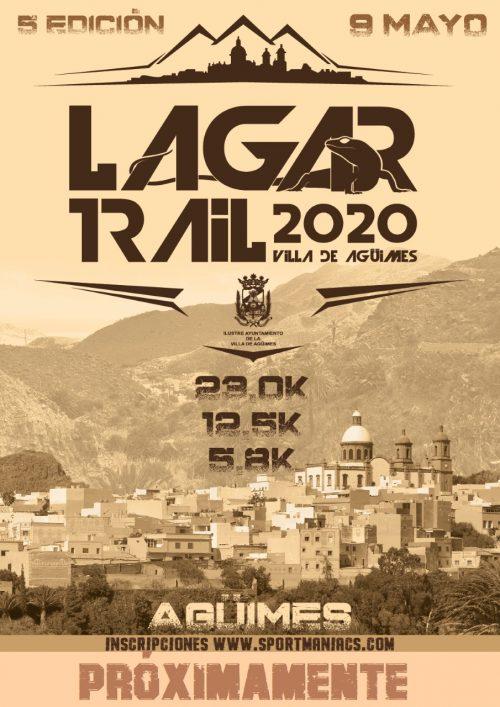 Cartel Lagar Trail 2020