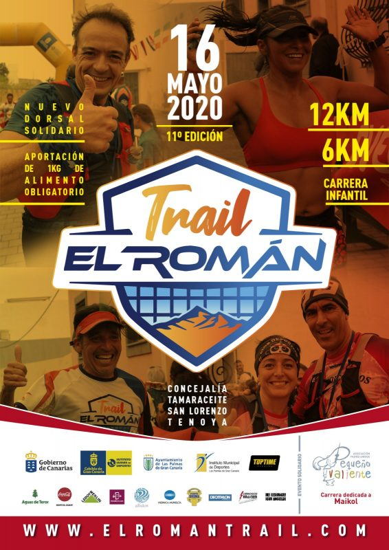 Cartel de Trail El Román 2020