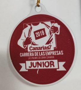 Medalla Canarias7 Carrera de las Empresas 2019
