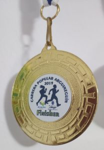 Medalla Carrera popular de Arguineguín 2019