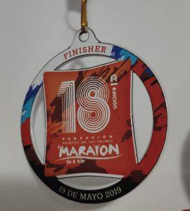 Medalla Media Maratón del Puerto 2019