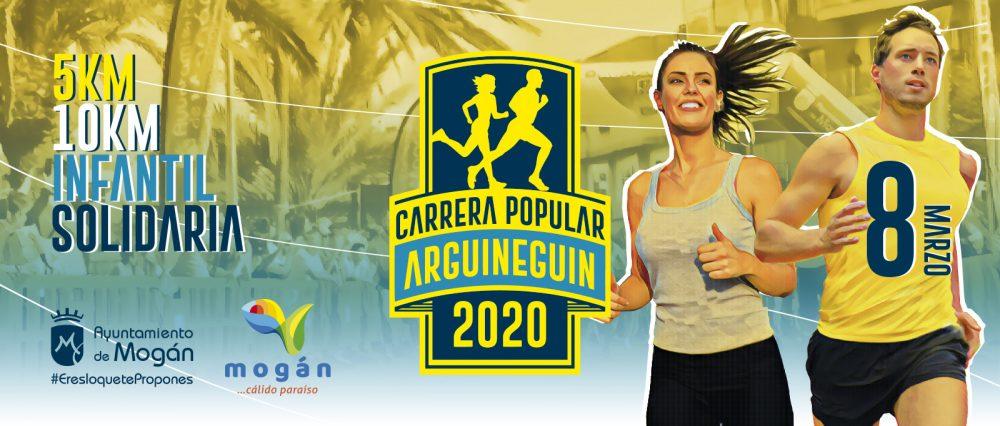 Banner Carrera Popular de Arguineguín 2020