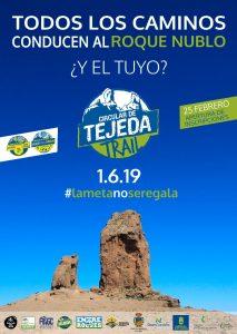 Cartel Circular de Tejeda 2019