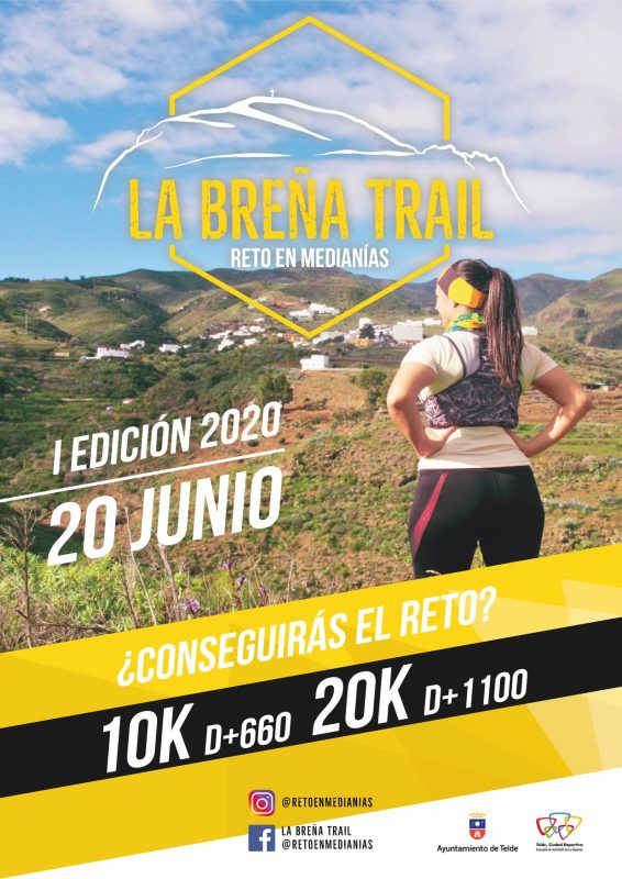 Cartel La Breña Trail 2020