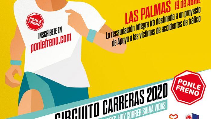 Cartel Ponle Freno Las Palmas 2020