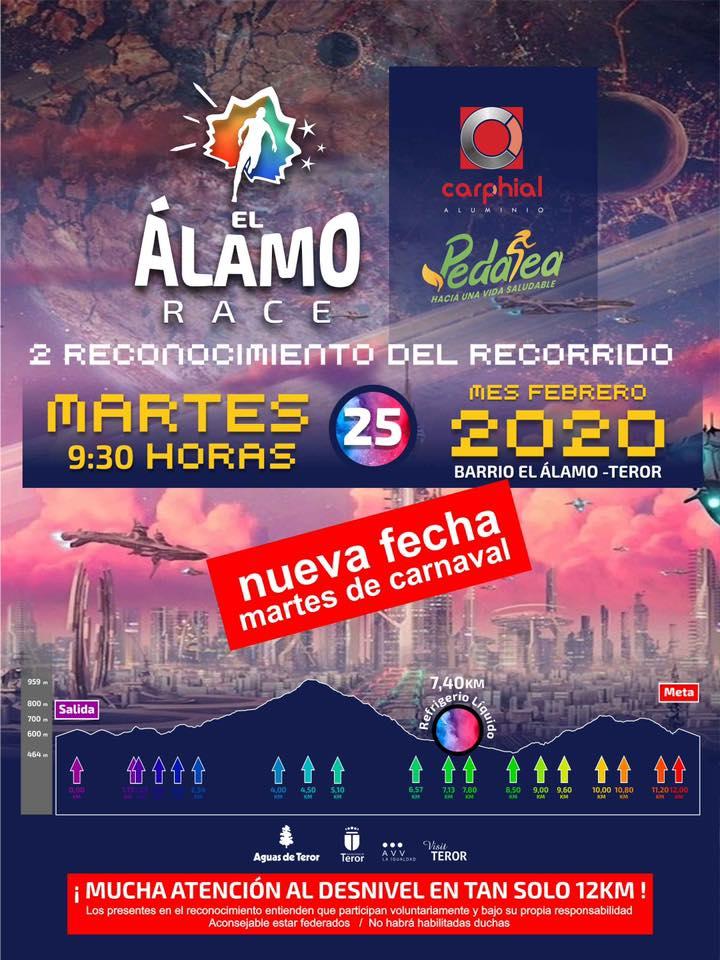 Entrenamiento El Alamo Race 2020 2