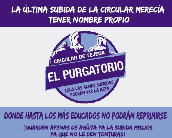 El Purgatorio Circular de Tejeda 2019