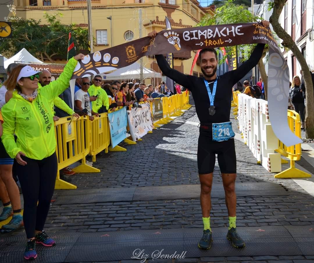 Ione Guerra Campeon Bimbache Trail 2019