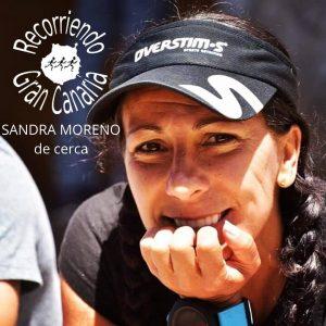 Sandra Moreno de cerca