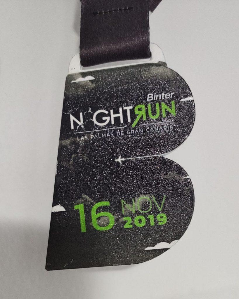 Medalla Binter NightRun LPGC 2019