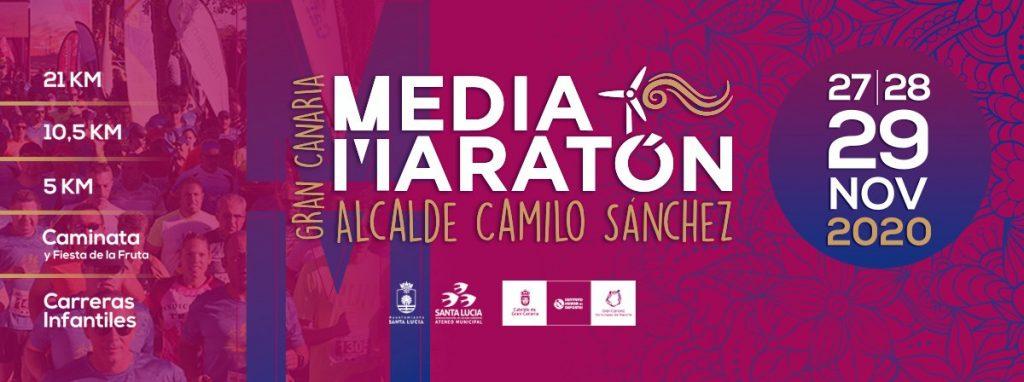Portada Gran Canaria Media Maratón 2020