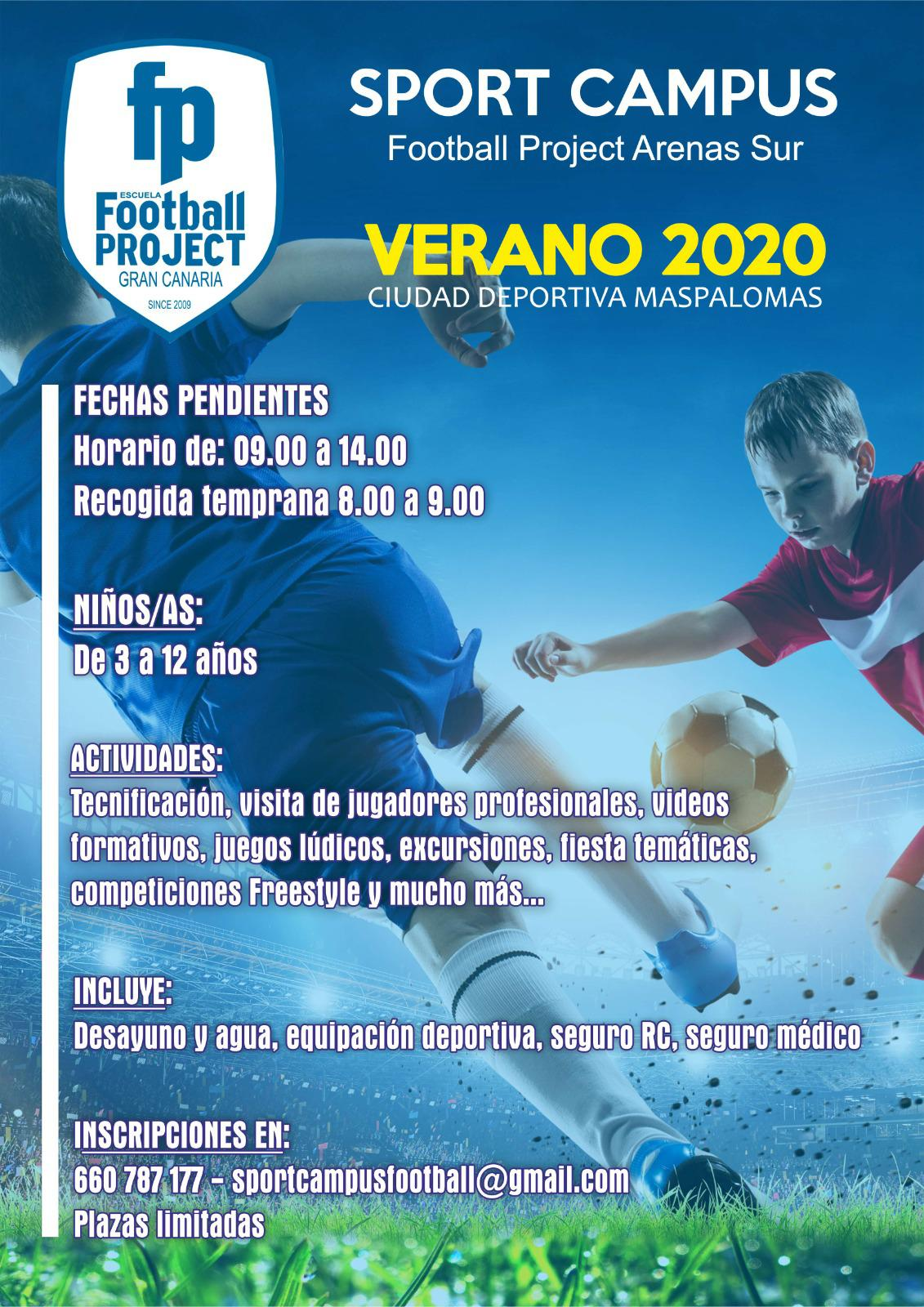 Campus verano 2020 Football Project