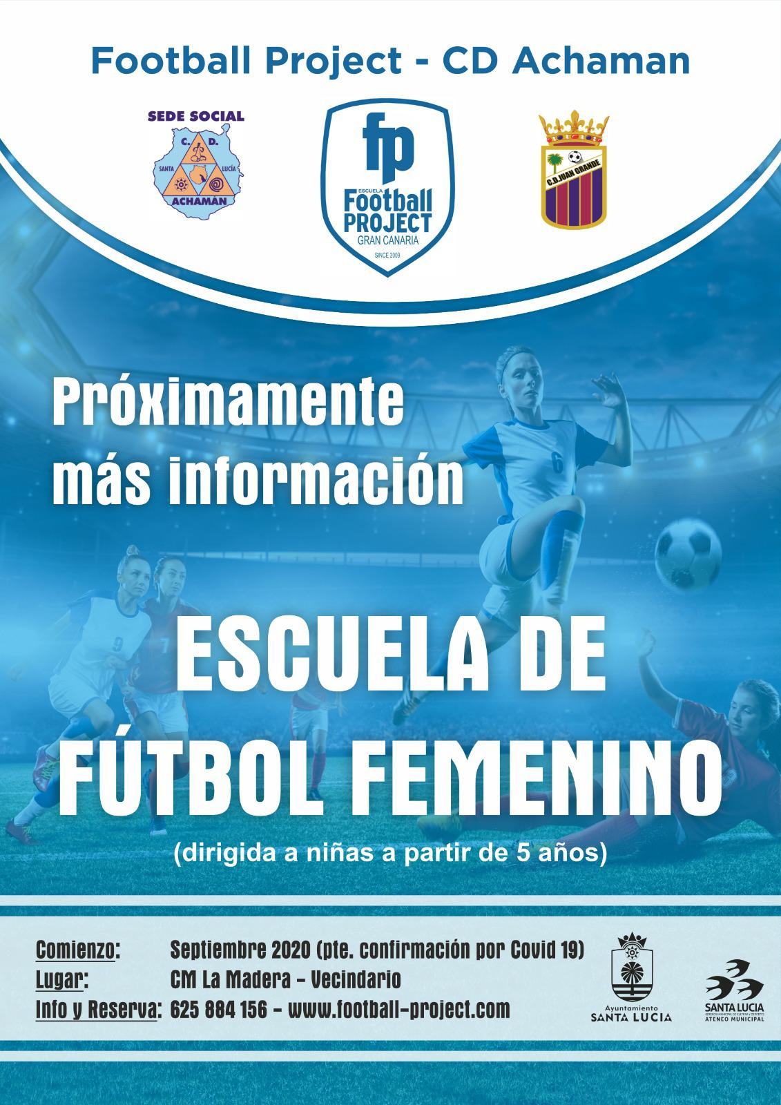 Escuela Femenina Football Project