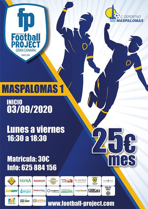 Football Project Matrícula 2020-2021