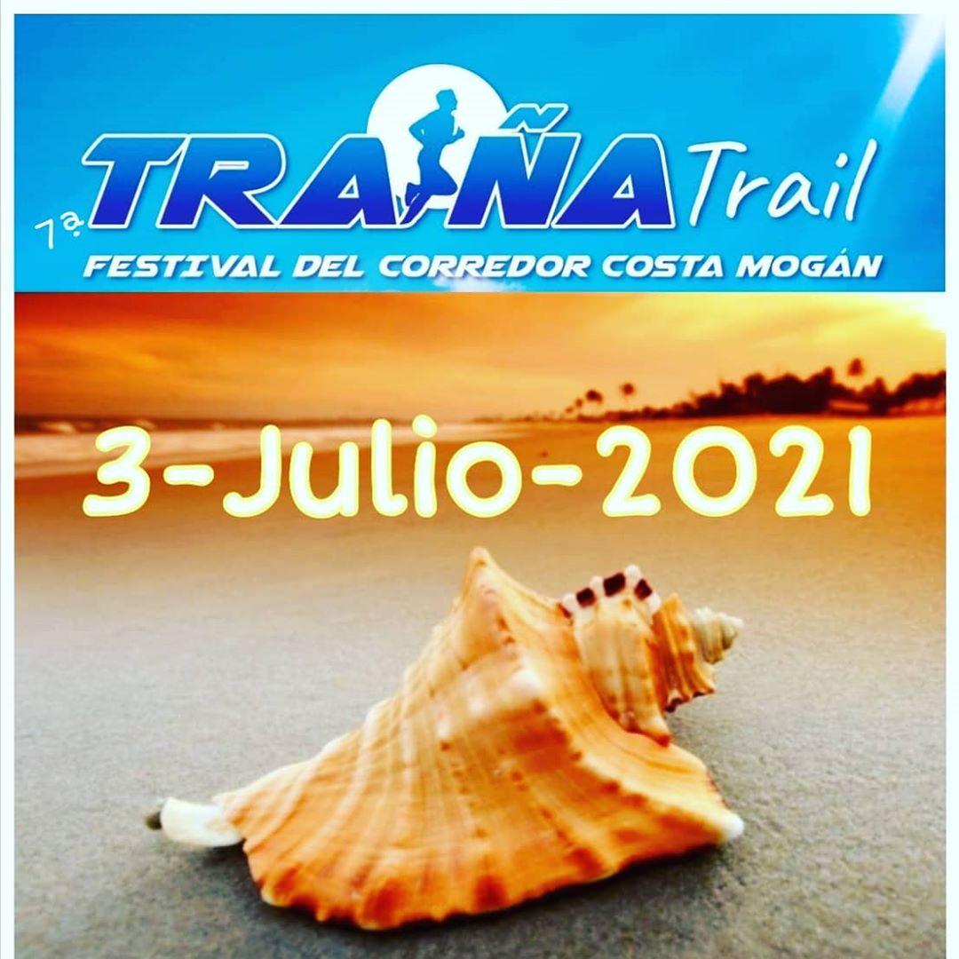 Cartel Traiña Trail Gran Canaria 2021