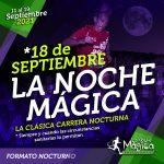 Cartel Oficial de La Noche Mágica 2021 - La prueba clasica de la noche mágica