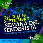 Cartel Oficial de La Noche Mágica 2021 - Semana Senderista