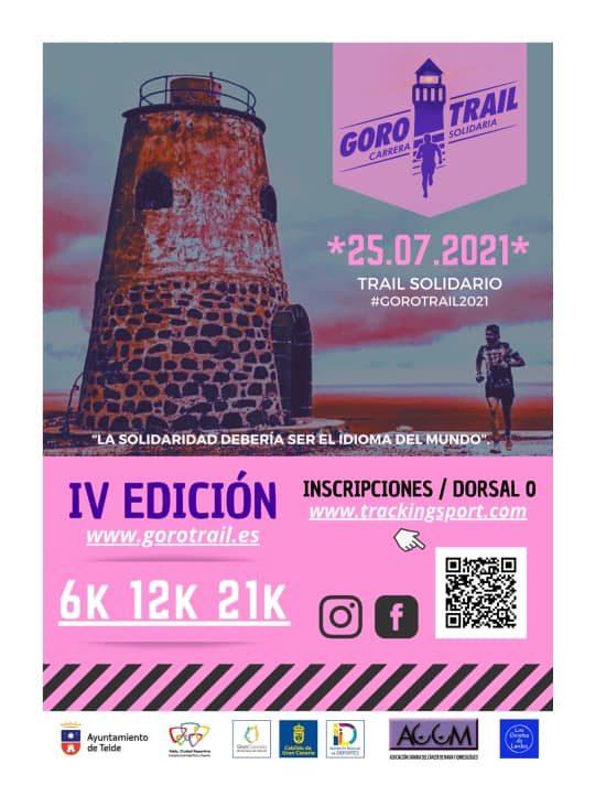 Cartel oficial de la Goro Trail 2021