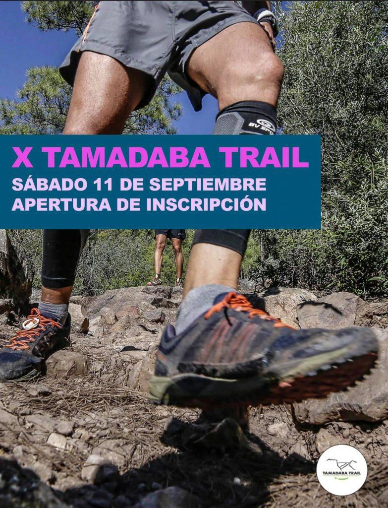 11 de septiembre inscripciones Tamada Trail 2021