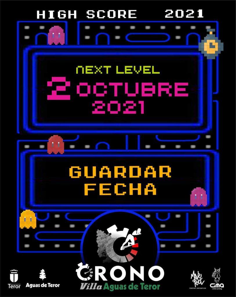 Cartel oficial de la CronoVilla Aguas de Teror 2021