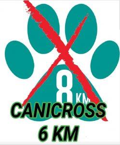 Cambio de distancia canicross de la Pilancones Tunte Trail 2022