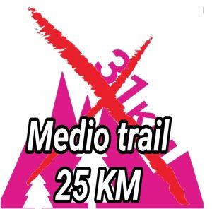 Cambio de distancia en la Pilancones Tunte Trail 2022 media Trail a 25K