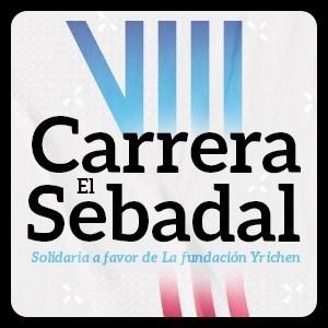 Logotipo oficial de Carrera El Sebadal 2021
