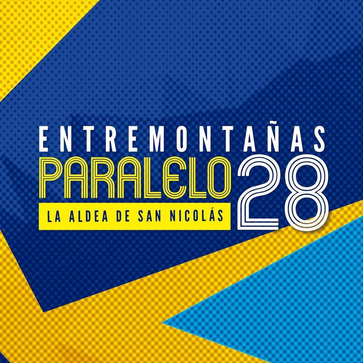 Logotipo oficial de la Paralelo28 Entremontañas