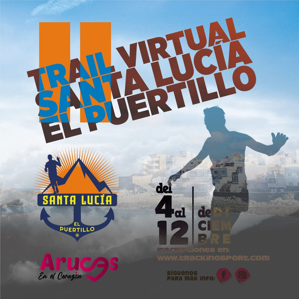 Cartel Oficial Trail Santa Lucía El Puertillo 2021
