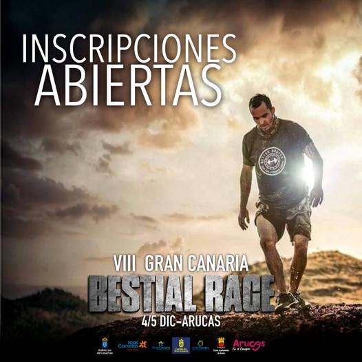 Inscripciones abiertas de la Gran Canaria Bestial Race 2021