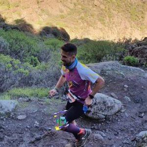Isai Sosa en la Fénix Trail 2021