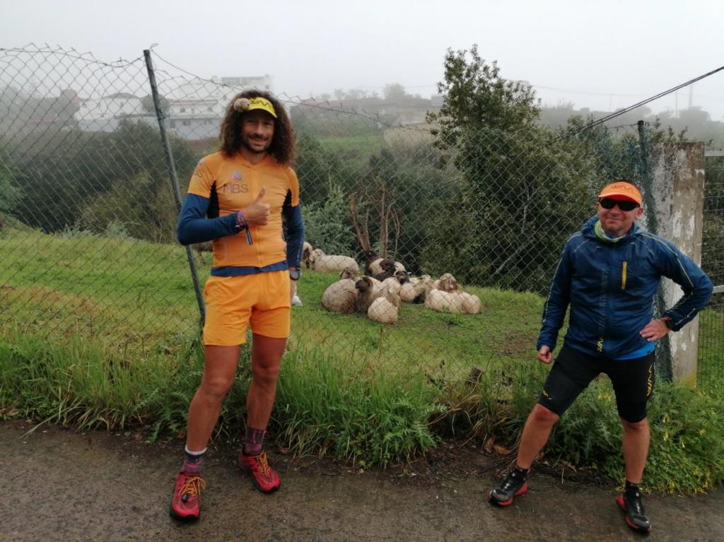 Entreno con Luca Papi de Armide Montesdeoca en Gran Canaria