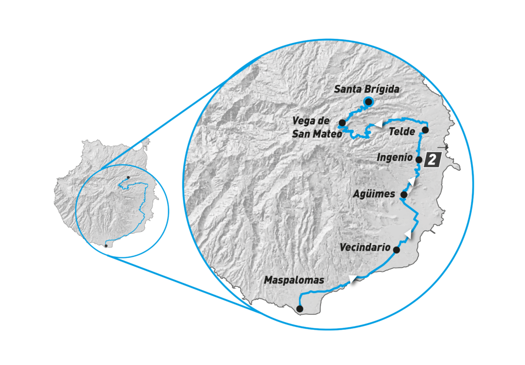 Gran Canaria Bike Week 2021 - Etapa 2 - Gran Canaria Sur - Norte