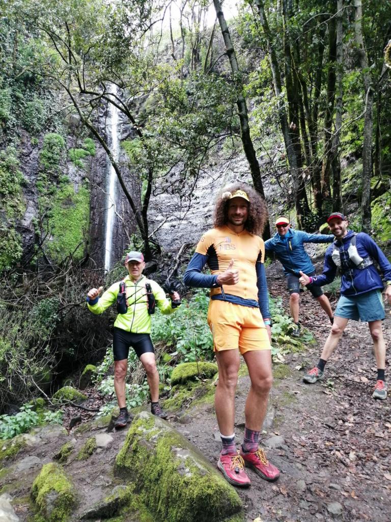 Grupo de entreno con Luca Papi en Gran Canaria