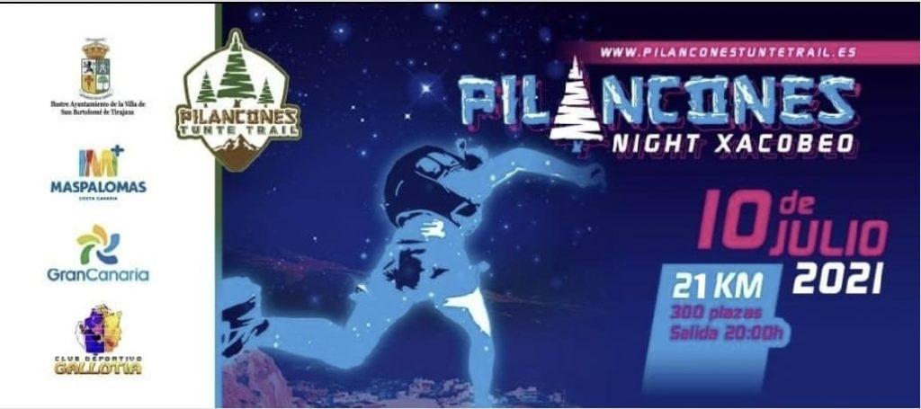 Portada de la Pilancones Night Xacobeo 2021