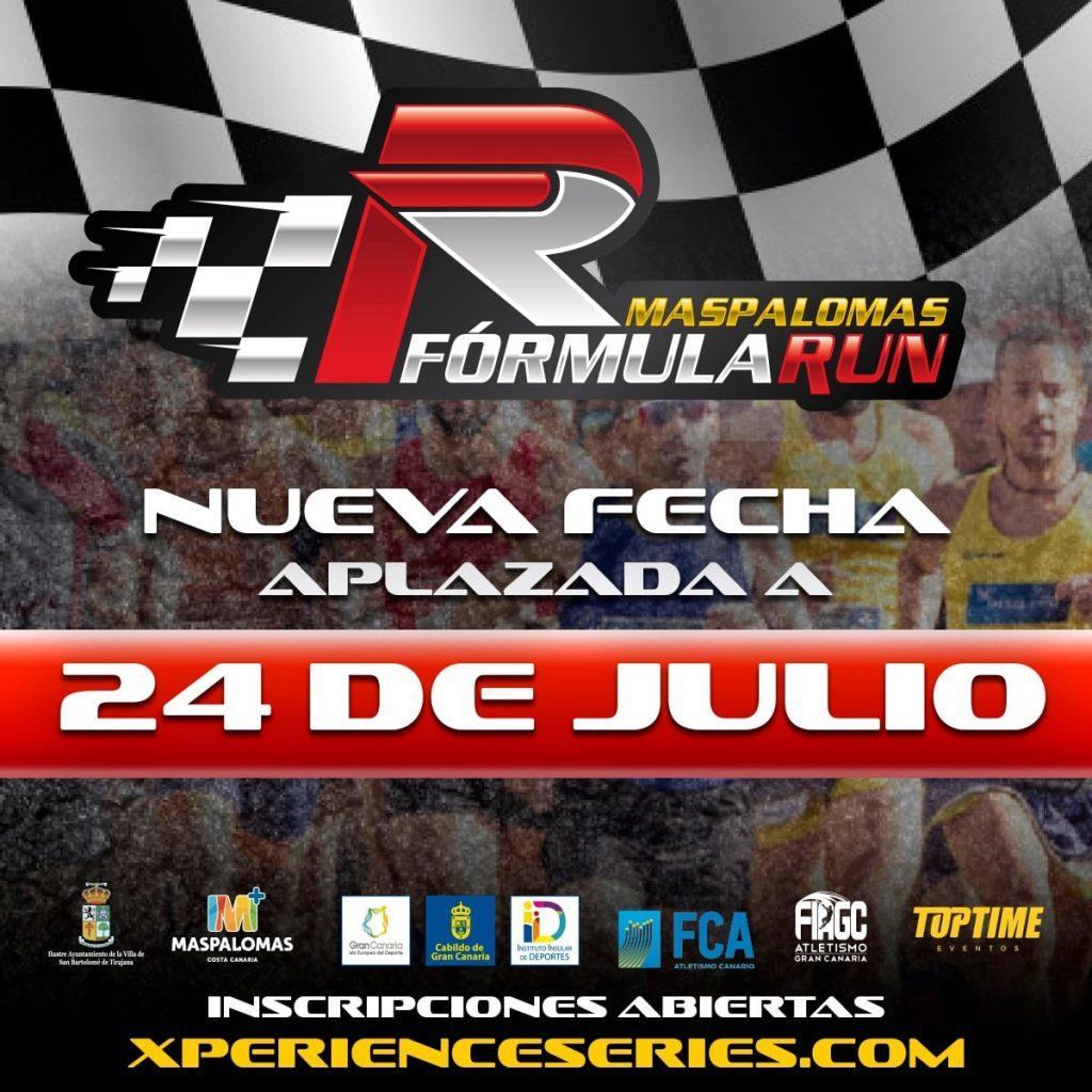 Aplazamiento y nueva fecha de Maspalomas Fórmula Run 5K 2021
