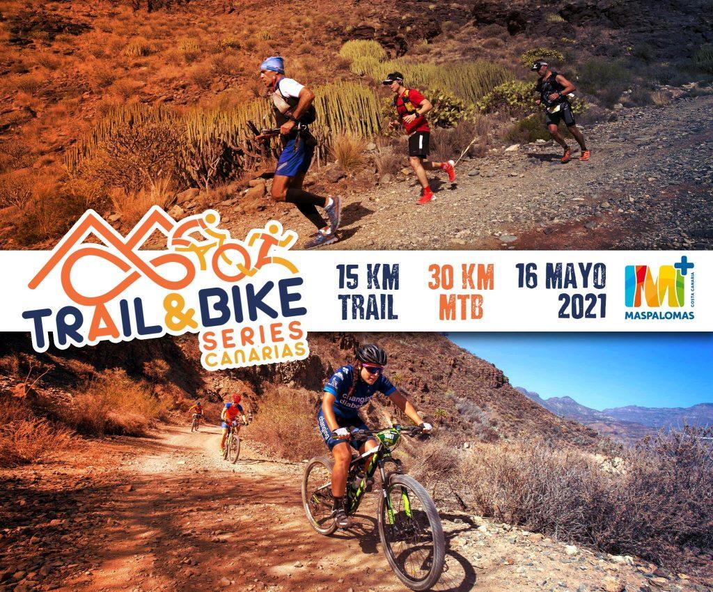 Cartel oficial de la Trail & Bike Series 2021