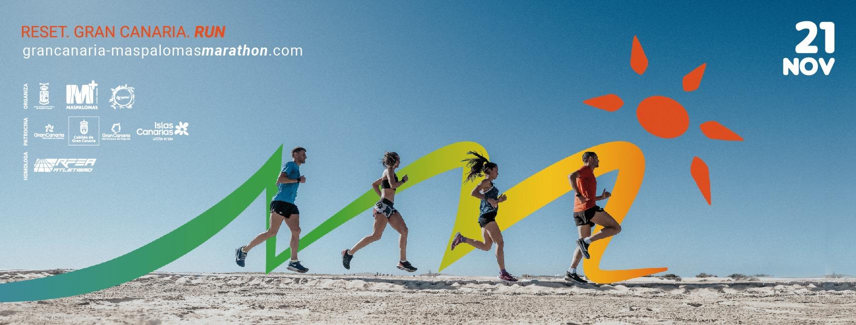 Portada 2 Gran Canaria Maspalomas Marathon 2021