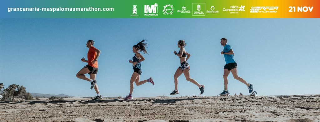 Portada Gran Canaria Maspalomas Marathon 2021