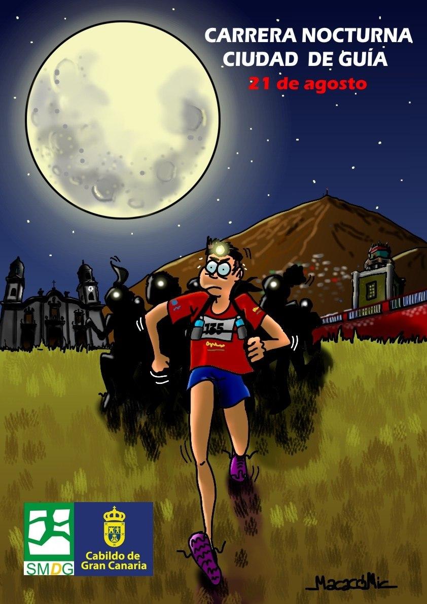Cartel Oficial de la Carrera Nocturna de Guía 2021