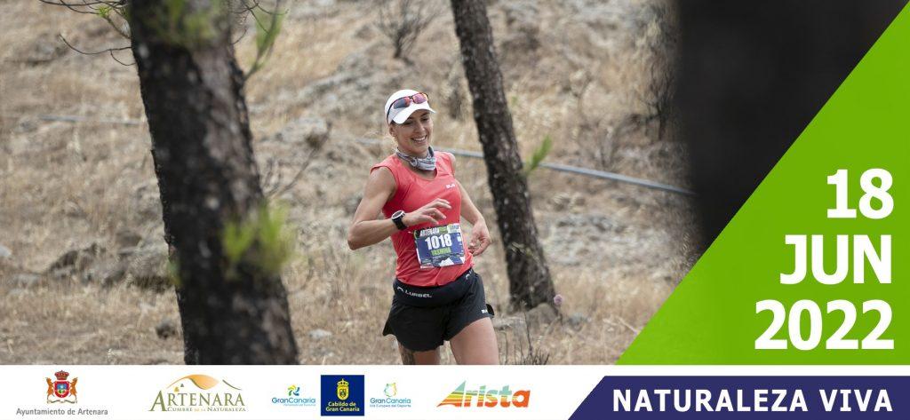 Cartel oficial de la Artenara Trail 2022