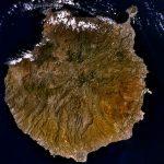 Imagen de Gran Canaria desde el espacio tomada por la NASA