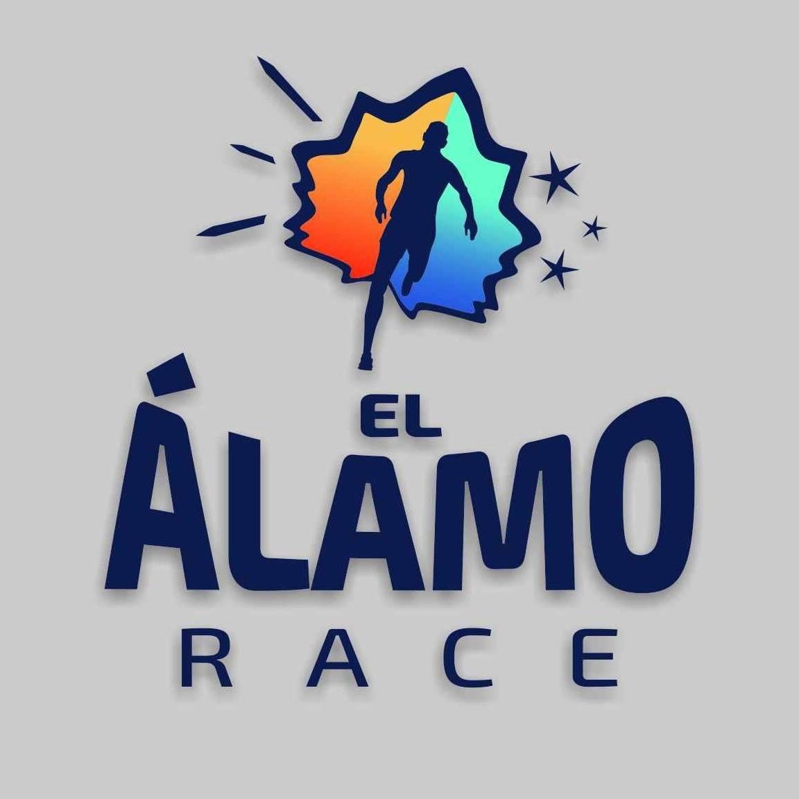 Logotipo oficial de la carrera El Álamo Race