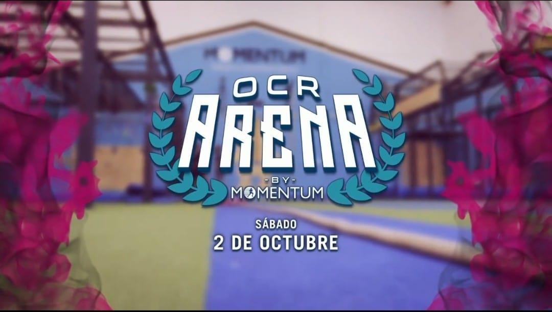 Cartel Oficial de OCR Arena 2021 By Momentum